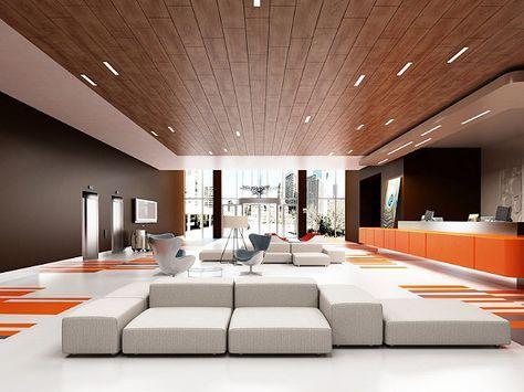 plafond suspendu bureaux